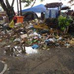 Trash on Seminyak Beach