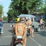 Traffic Operation Starts Across Bali, Also Targets Shirtless Tourists