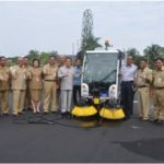 Denpasar keeps the streets clean
