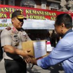 Seven trucks of donations sent to Lombok
